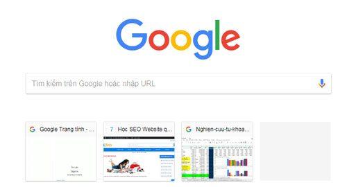 SEO-website-tren-google