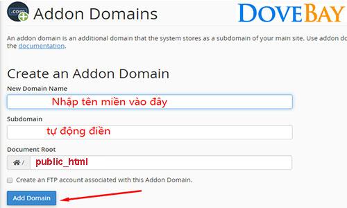 addon-ten-mien-tren-hosting-la-gi